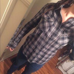 Converse black gray flannel. Lightly worn no damag